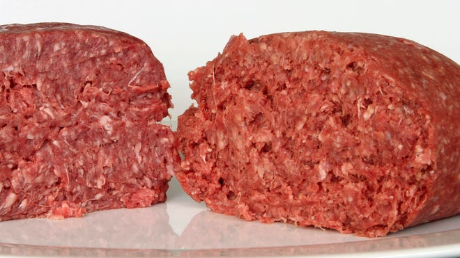 A North Carolina company has recalled more than 35,000 pounds of ground beef, sold in Kroger stores, for possible contamination with plastic bits.