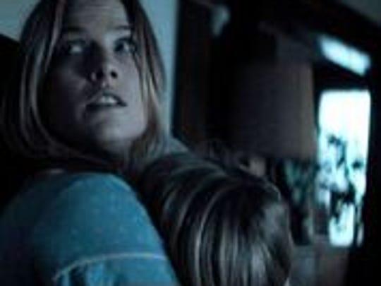 "Ali Larter gets protective in ""The Diabolical."""