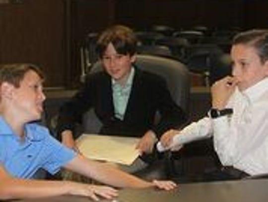 Colin Hannigan, Wilson Vanexan, and Ryan Fontenot