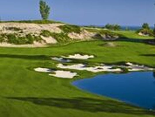 A look at the course at Golf Club at Harbor Shores
