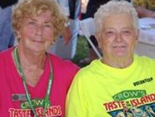 CROW executive director Linda Estep with founder Shirley