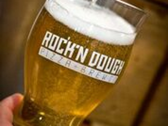Rock'n Dough Pizza and Brew Co. has 12 beers on tap. The Germantown location has sold beer since mid-April