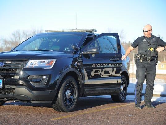 Black Suv Helps Police Patrol In Plain View