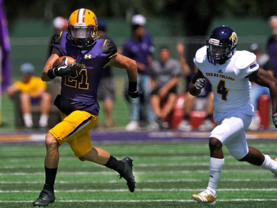 Hardin-Simmons University wide receiver Reese Childress