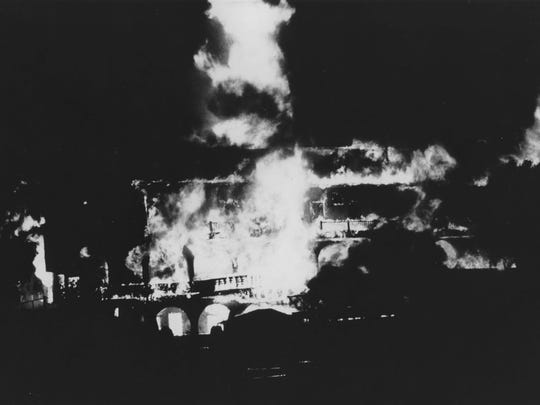 In the early morning hours of Friday, Dec. 10, 1976, flames consumed the historic Palm House at Castle Hot Springs Resort.