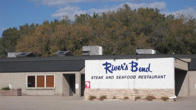 River's Bend Steak & Seafood is closed and the building and property will be sold or auctioned.