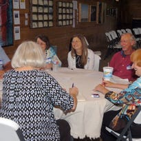 During round table discussions Friday in the transformed potato barn at NuNu's, people brainstormed about plans to develop Arnaudville as a cultural destination for French language and culture in Louisiana.