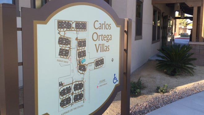 The city of Palm Desert is dedicating the Carlos Ortega Villas on Thursday morning. The $15 million project provides 72 units of affordable housing for seniors.