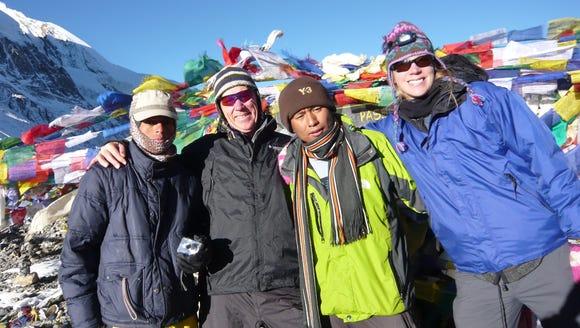 Nicole Melancon in Nepal.