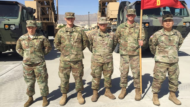 Members of Delta Battery with 3-43 ADA are helping to upgrade and modernize the Patriot air-defense system.