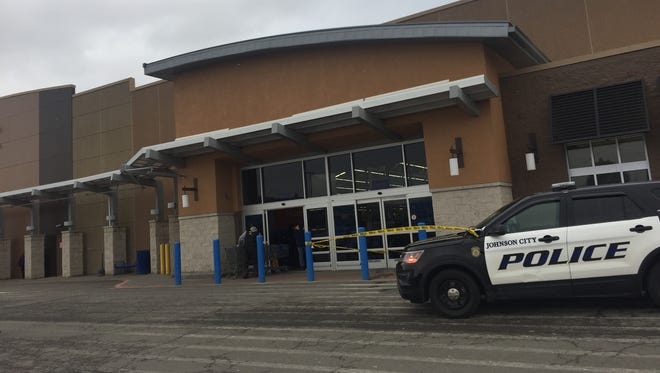 Johnson City Police charged a Binghamton man with robbery Wednesday at WalMart in Johnson City.