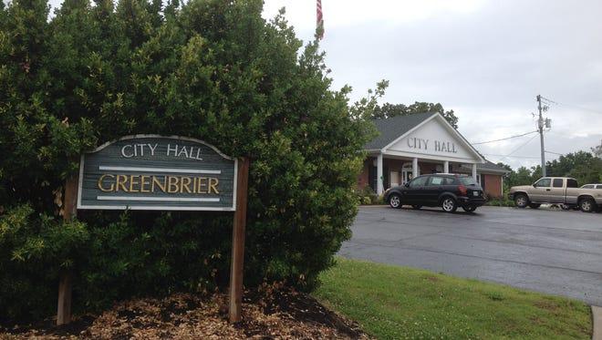 Greenbrier City Hall