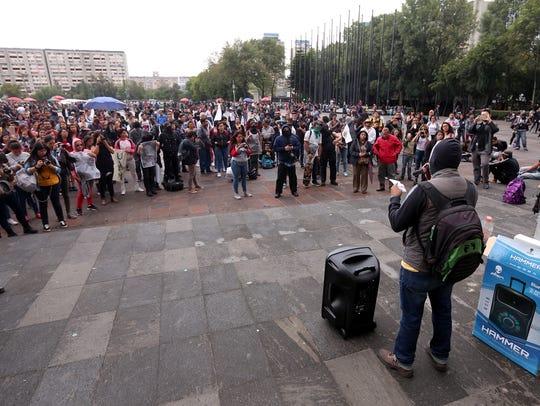 Alistan marcha del 2 de octubre en la Ciudad de México.
