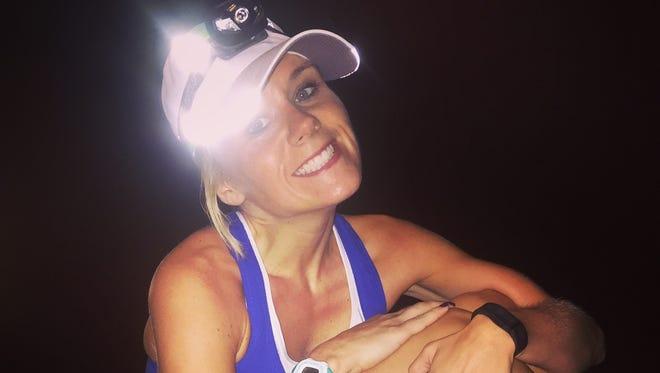 Jessica Hadley will run the international half marathon portion of the Detroit Free Press/Talmer Bank Marathon.