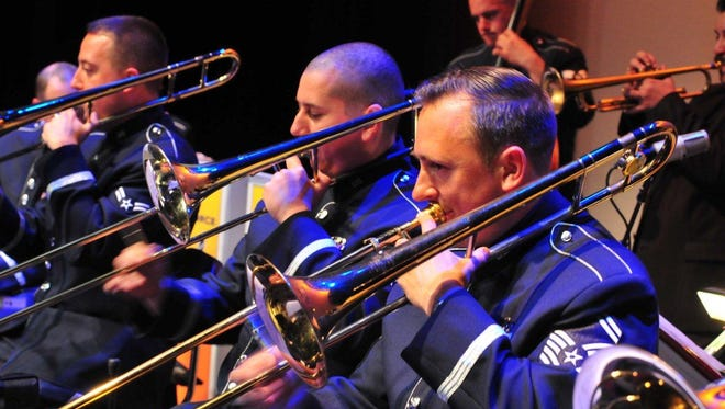 The Commanders Jazz Ensemble of the U.S. Air Force Band of the Golden West will give a free concert at 4 p.m. Oct. 25 at the Historic Elsinore Theatre.