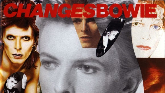 """Changesbowie"" was a 1990 greatest hits album by David"
