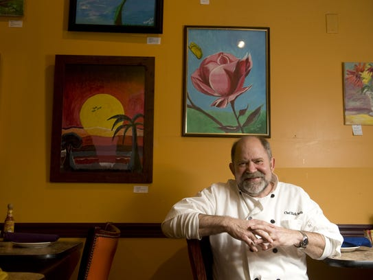 Mark Smith, chef/owner of Tortilla Press and Tortilla