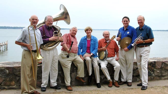The Salty Dogs jazz band will perform free concert Sept. 10 at McMillan Memorial Library.
