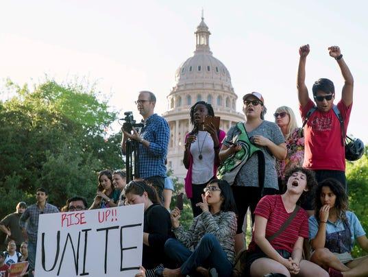 AP SANCTUARY CITIES TEXAS A XGR FILE USA TX