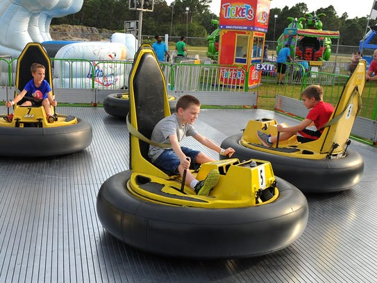 The Indian River County Firefighters' Fair kicks off