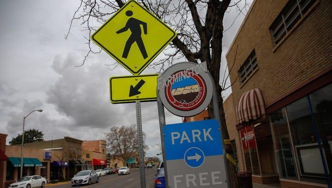 Main Street as seen Tuesday in Farmington.
