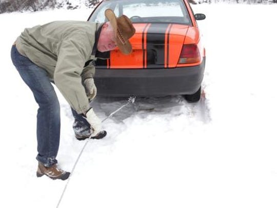Iron Mountain car plunge revives Mich. town's tradition