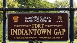 Fort Indiantown Gap, in northern Lebanon County, is a pre-deployment training facility for all branches of the military.