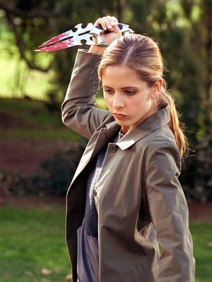 Sarah Michelle Geller in an episode of 'Buffy the Vampire Slayer.'