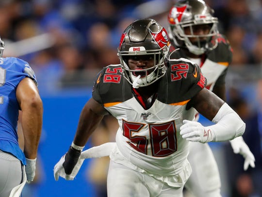 Tampa Bay Buccaneers and former Colorado State linebacker earned a Pro Bowl nod after leading the NFL in sacks so far this season.
