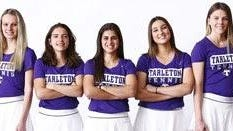 Tarleton State University's entire women's tennis team was recognized as an ITA All-Academic Team for the second year in a row.
