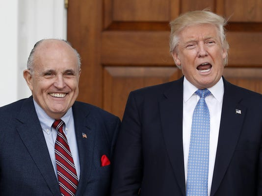 Donald Trump,Rudy Giuliani