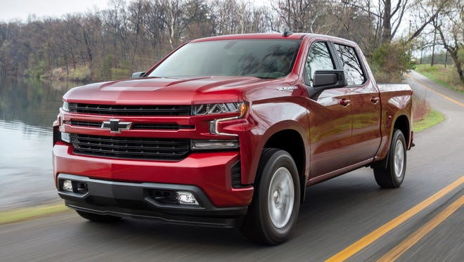 Top large pickup: Chevrolet Silverado