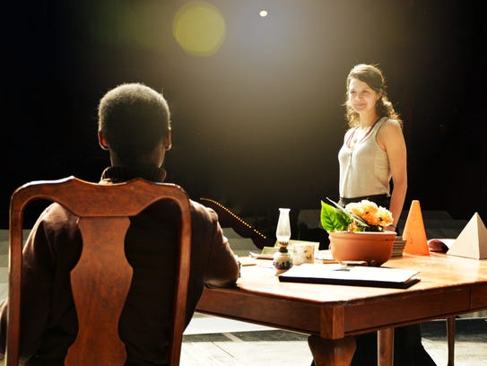 """determinism in the play arcadia by tom stoppard Scenes in tom stoppard's """"arcadia  and colleen madden play academics at odds in arcadia at  laws of determinism and thermodynamics, but stoppard focuses."""