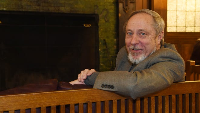 Kevin Zraly, pictured at Mohonk Mountain House in New Paltz. Zraly led a wine tasting event at the resort.