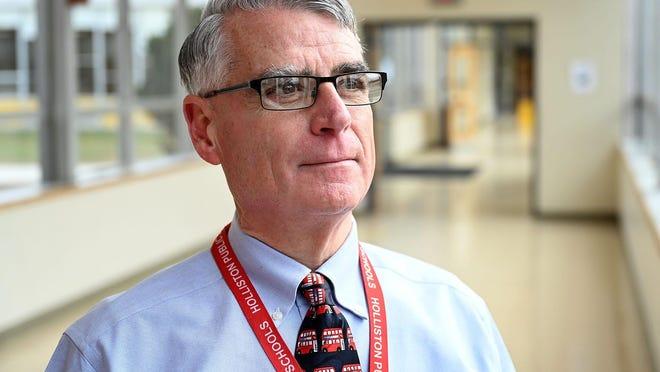 Shawsheen Valley Technical High School Superintendant-Director Brad Jackson
