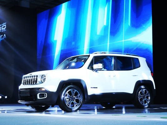 Jeep Renegade production begins in China