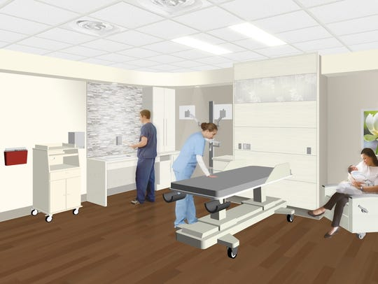 As shown in a rendering by Array Architects, private