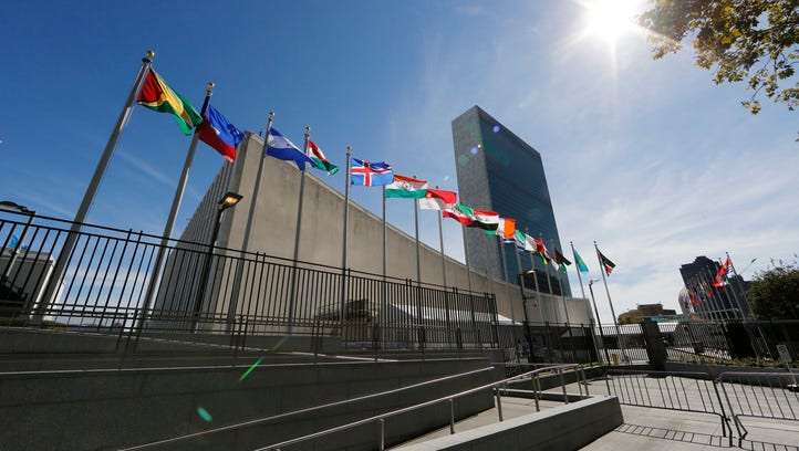 File photo taken in 2015 shows the United Nations headquarters
