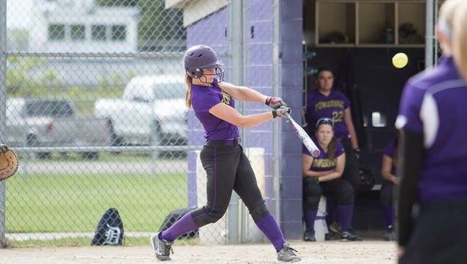 Fowlerville's Sarah Matlock leads a Gladiators squad that is in search of their third district championship in four years.