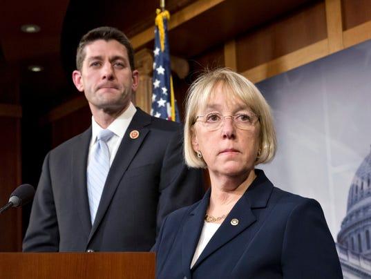politics ryan shutdown house senate budget