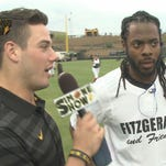 Jordan Simone takes his show to Larry Fitzgerald's Celebrity Softball