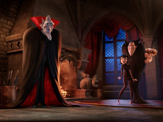 Vlad (voiced by Mel Brooks, left) will return in 'Hotel