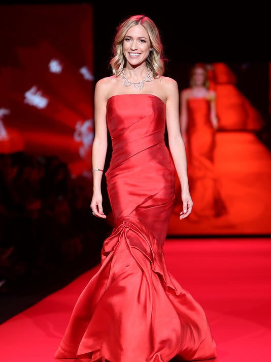 Go Red For Women Red Dress Collection During Mercedes-Benz New York Fashion Week F/W 2015 - Runway