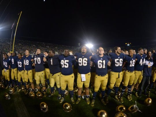 Despite some alterations, Notre Dame's look still remains classic.