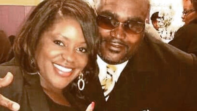 Terence Crutcher, right, with his twin sister Tiffany. Crutcher, an unarmed black man was killed by a white Oklahoma officer Friday, Sept. 16, 2016, who was responding to a stalled vehicle.