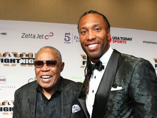 Music legend Sam Moore and Arizona Cardinals star Larry