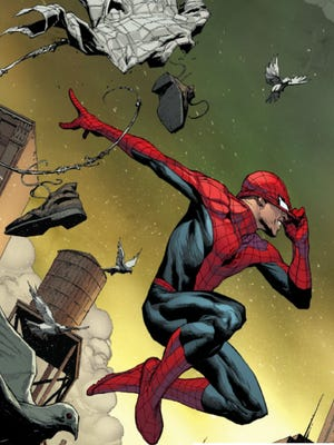 "Good ol' Peter Parker is back — as is the same old bad luck — in ""Amazing Spider-Man"" No. 1."