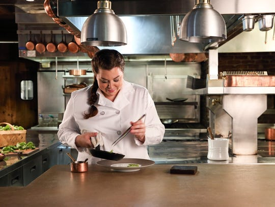 Cassidee Dabney joined Blackberry Farm as a sous chef in 2010, and worked up to executive sous chef. She was named executive chef of The Barn in 2015.
