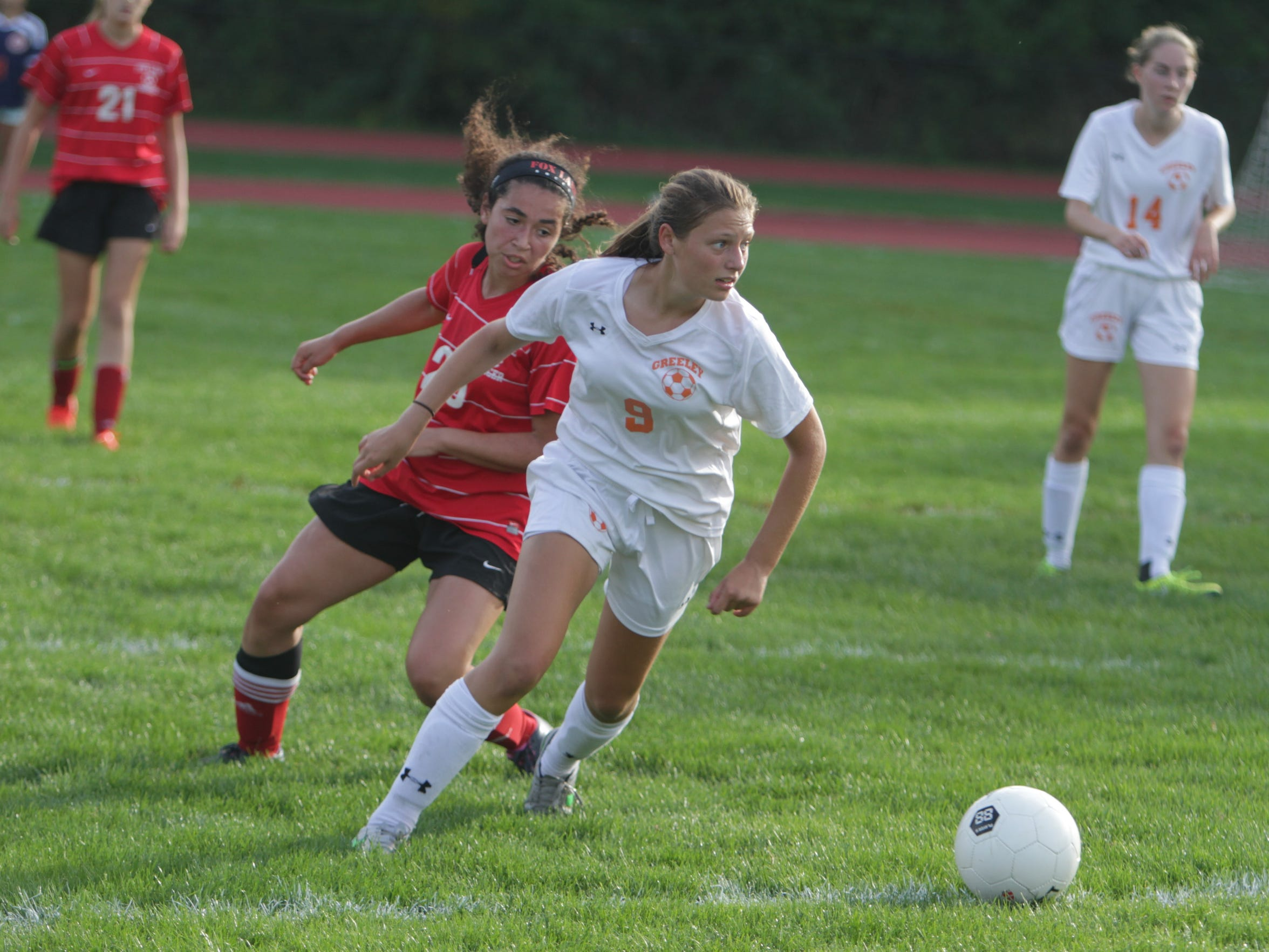 Stella Schwartz is a standout defender at Greeley.