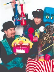 """Adzooks Puppets will perform a free show called """"Circus of Imagination"""" on Saturday at Morrisson-Reeves Library."""